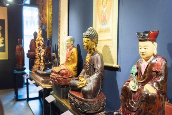 Triển làm tượng cổ ở Thành phố Hồ Chí Minh